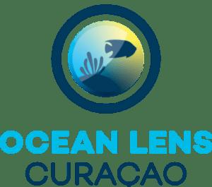 Logo van Ocean lens Curaçao.