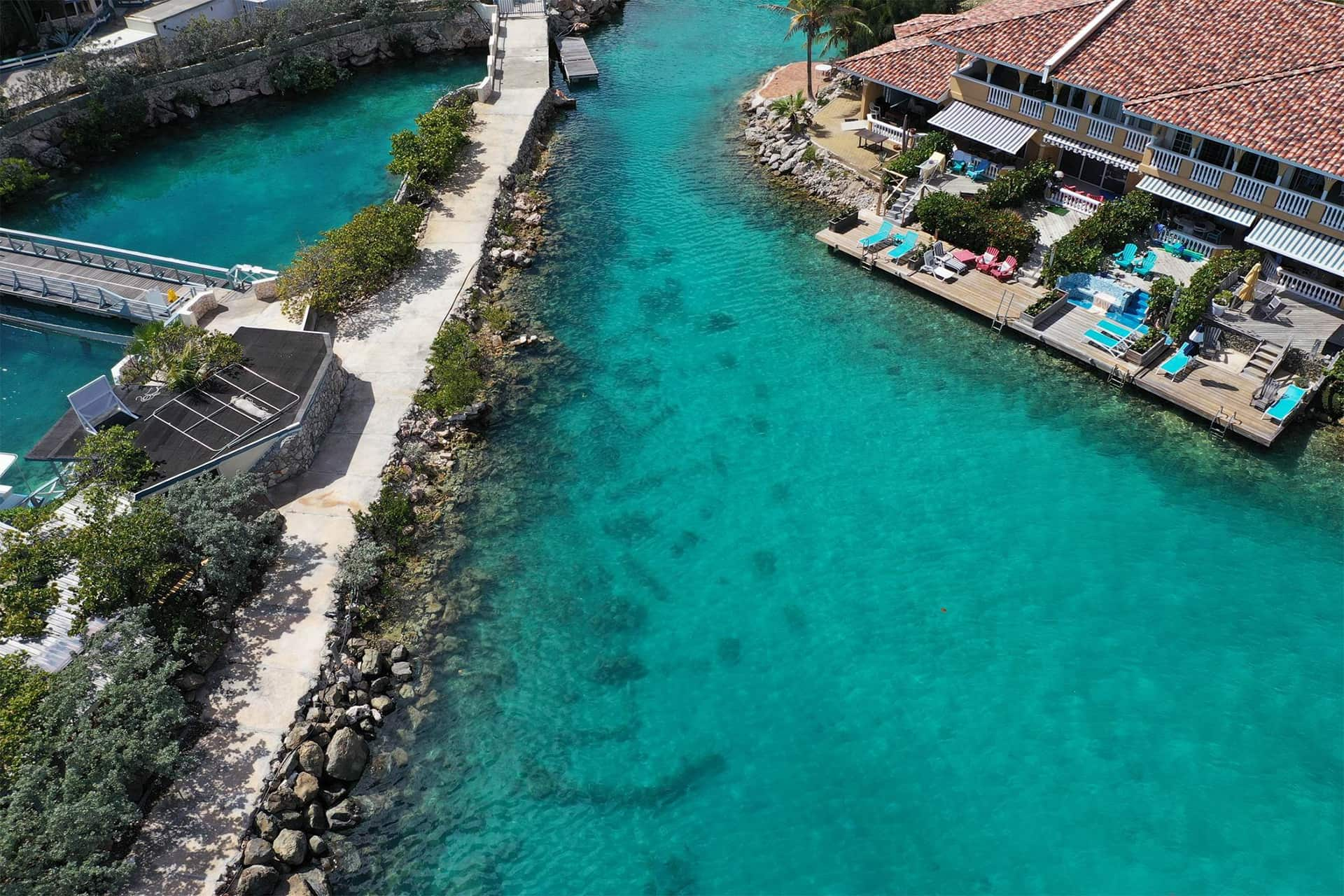 Curacao Sea Aquarium canal restoration project consists of several projects that contribute to the reef.