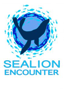 Logo of sea lion encounter.